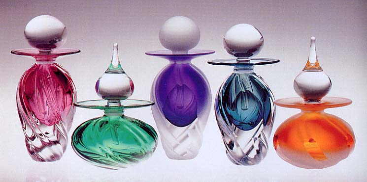 Twist Perfume Bottles